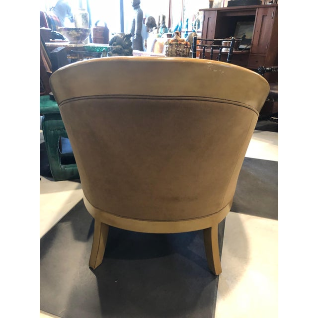 Mid-Century Modern 1960s Vintage Stickley Bay Hill Maple Club Chair For Sale - Image 3 of 7
