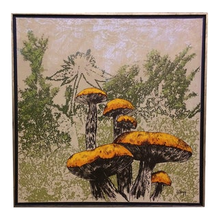 """Wild Mushrooms"" Painting by Gregg For Sale"