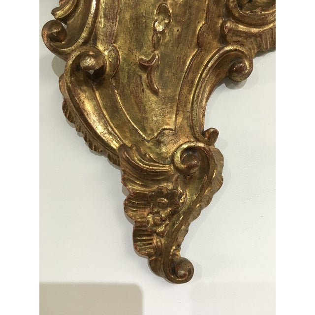 Gold 19th Century Rococo Gilt Wall Shelves - a Pair For Sale - Image 8 of 12