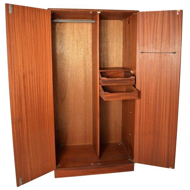 G Plan Mid Century G Plan Fresco Teak Wardrobe Armoire For Sale - Image 4 of 10