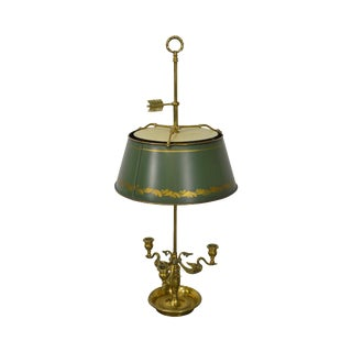 Chapman Brass French Empire Style Bouillotte Lamp
