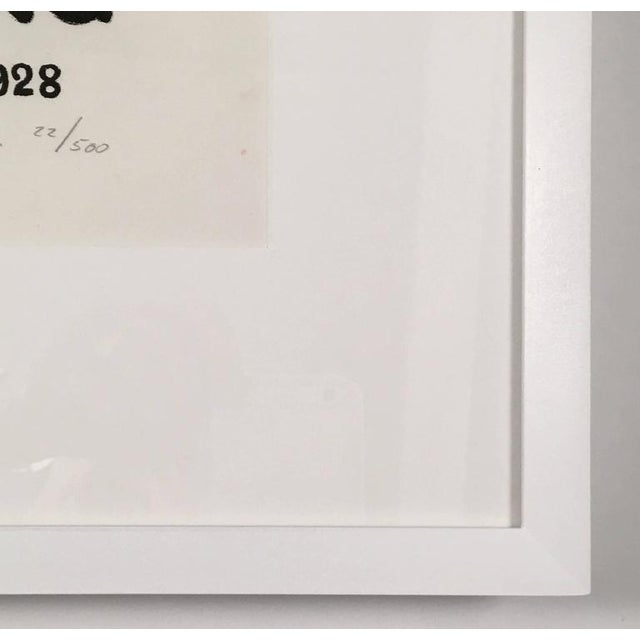 1980s Framed Zurich Art Exhibition Poster After Augusto Giacometti For Sale - Image 5 of 8