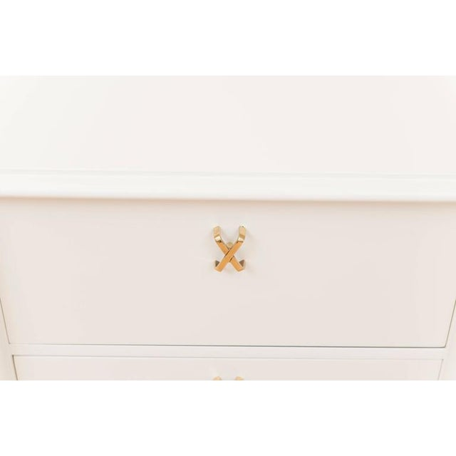 Paul Frankl Ivory Lacquered Nightstands - a Pair - Image 3 of 7