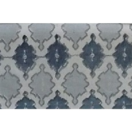 O. Henry House Blue & White Patterned Club Chair - Image 3 of 6