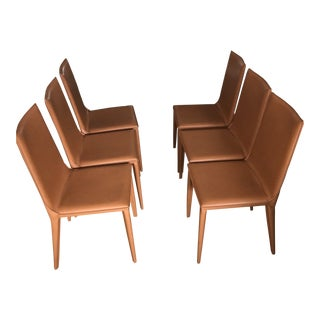 Modern Design Within Reach Dining Chairs - Set of 6 For Sale