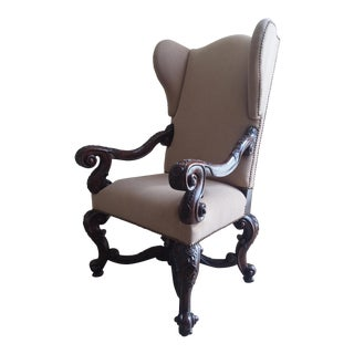 Theodore Alexander Wingback Chair