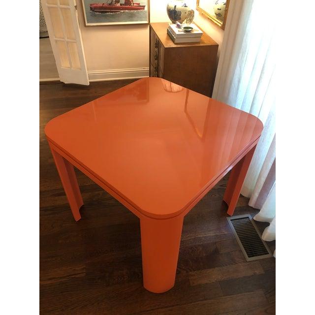 Mid-Century Modern Custom Mid Century Modern Game Table For Sale - Image 3 of 6