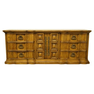 United Furniture Italian Neoclassical Tuscan Style Dresser For Sale