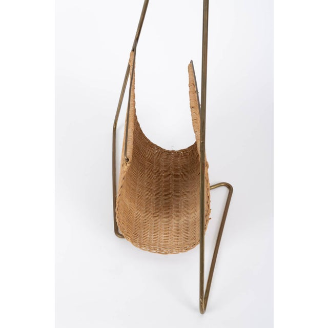 Carl Auböck Attributed Magazine Rack For Sale - Image 10 of 12