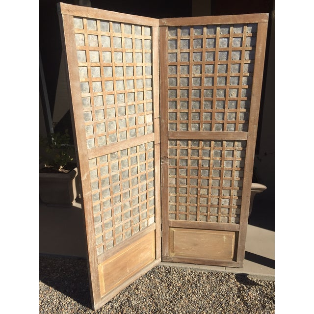 Style: Rustic/Asian Antique - Circa Spanish Colonial Era Philippines, this screen is made of hardwood and hand cut &...