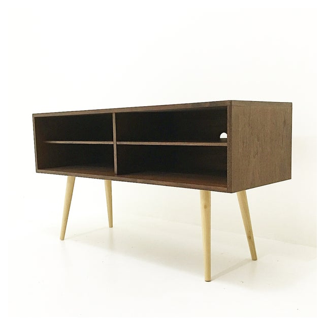 Mid-Century Style Media Console - Image 2 of 3
