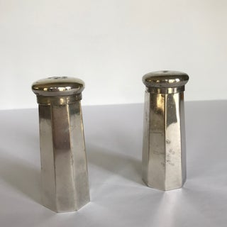 Silver Octagonal Salt and Pepper Shakers Preview