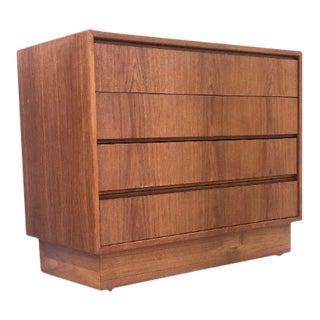 Vintage Danish Teak Dresser For Sale