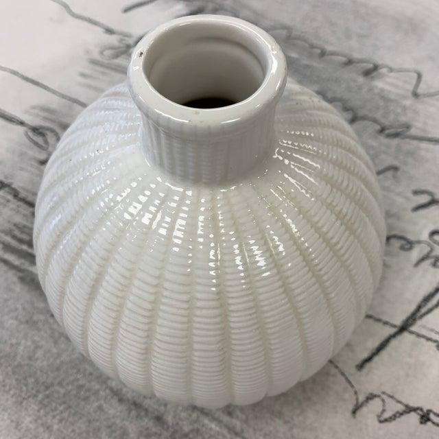 Ceramic Tiffany's & Co Vintage Vase For Sale - Image 7 of 13