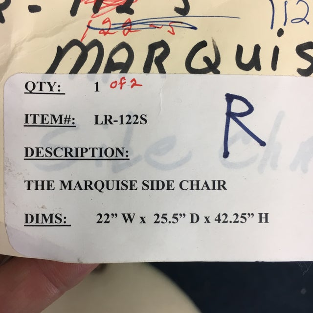 Lucien Rollin Marquise Side Chair - Image 10 of 10