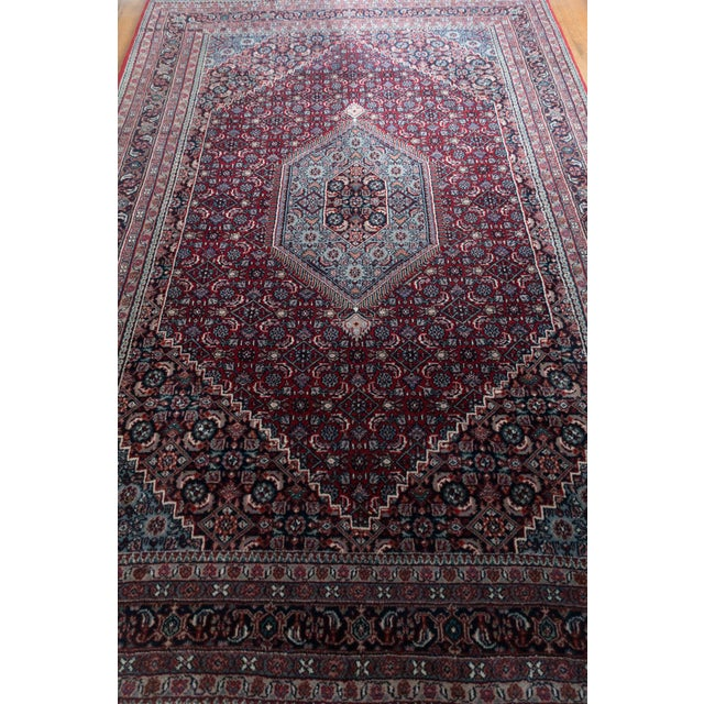 Vintage Bidjar Carpet Rug - 6' x 9' - Image 3 of 6