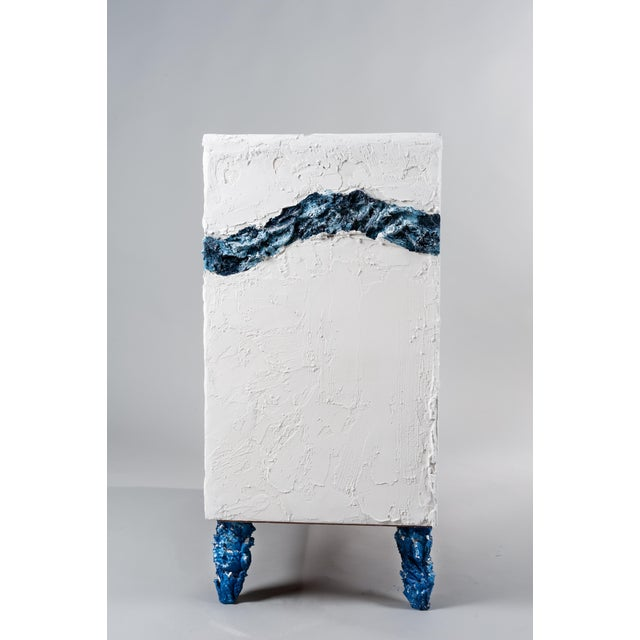 Abstract Building Sandcastles, Hand- Crafted Chest of Drawers by Atelier Miru For Sale - Image 3 of 12
