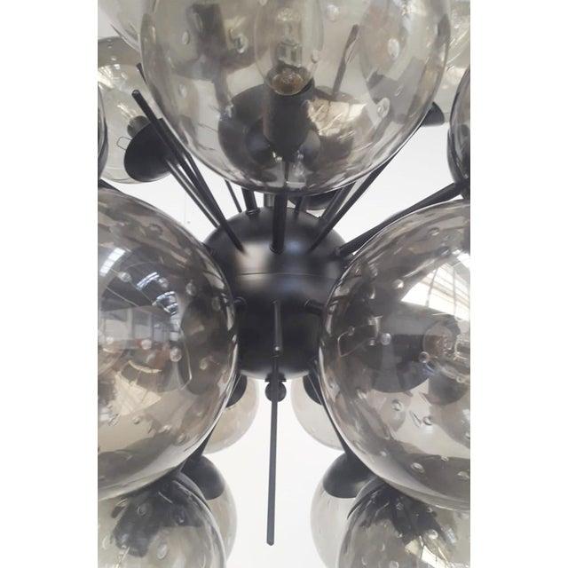 Metal Ventiquattro Sputnik Chandelier by Fabio Ltd For Sale - Image 7 of 10