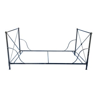 Bloomingdales 1980's Iron Daybed