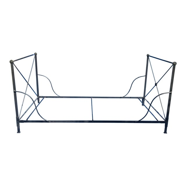 Bloomingdales 1980's Iron Daybed - Image 1 of 7