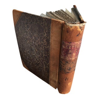 1870s Legal Letters Bound Volume For Sale