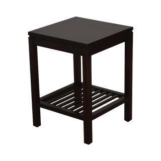 Stickley Metropolitan Collection Cherry Square Side Table For Sale