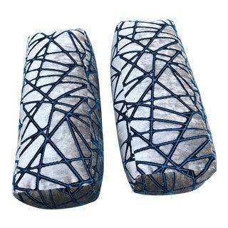 Holly Hunt Modern Bolster Pillows - Set of 2