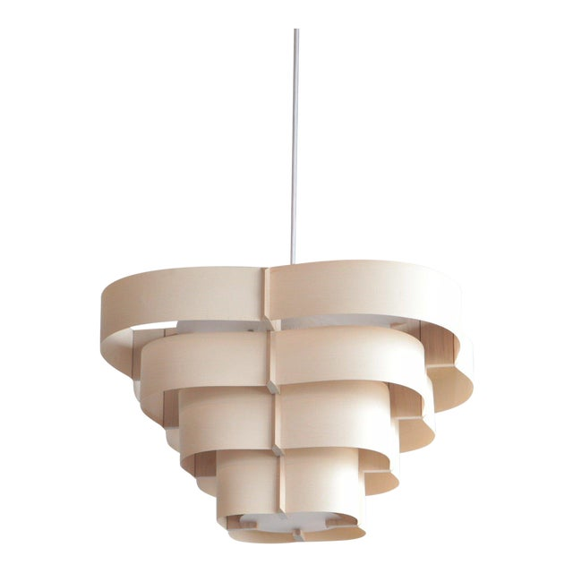 Harry Weitzer Canopy Wood Lighting For Sale