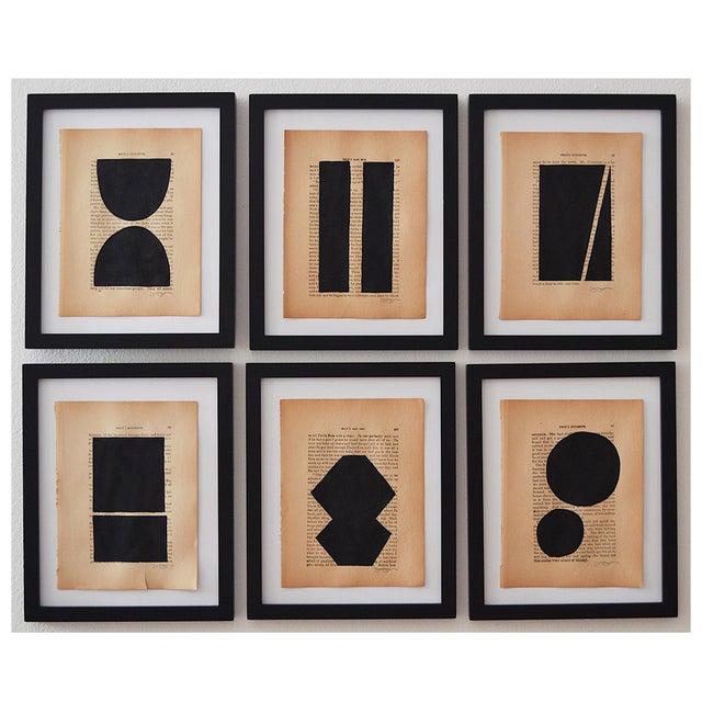 2010s Josh Young Design House - 6 Piece Noir Géométrique Collection For Sale - Image 5 of 5