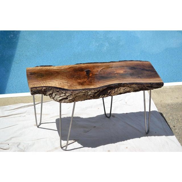 Live Edge Walnut Table - Image 2 of 7