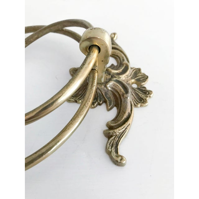 Vintage Brass Towel Holders - A Pair - Image 3 of 5