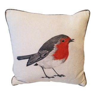 Robin Pillow Made in Wales, Untied Kingdom For Sale