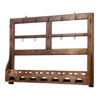 Italian Kitchen Hanging Rack For Sale