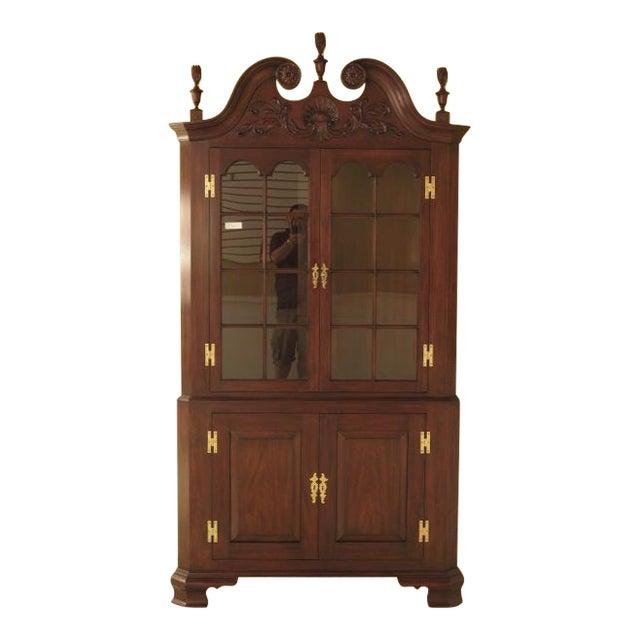 Henkel Harris Mahogany Welford Corner Cabinet - Image 1 of 11