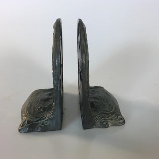 Resting Maiden on a Horse Bookends - A Pair Preview