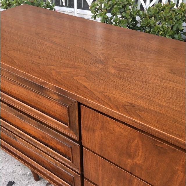 Vintage Walnut Dresser - Image 6 of 6