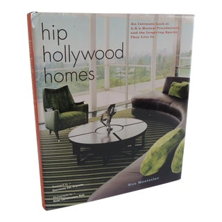 Hip Hollywood Homes Book For Sale