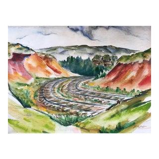 John LeRoy Jackson Landscape Painting For Sale