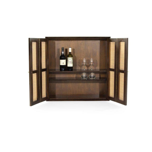 1950s Floating Liquor Cabinet by Vladimir Kagan for Grosfeld House For Sale - Image 12 of 13