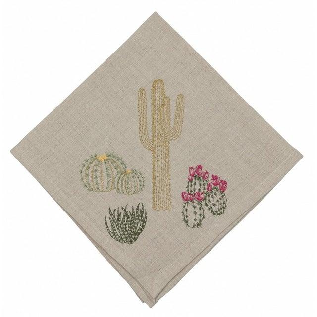 Cacti Field Dinner Napkin - Image 8 of 8