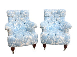 Image of Tufted Accent Chairs