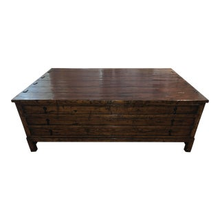Guy Chaddock Map Coffee Table For Sale