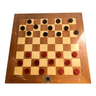 Vintage Double Sided Game Board For Sale