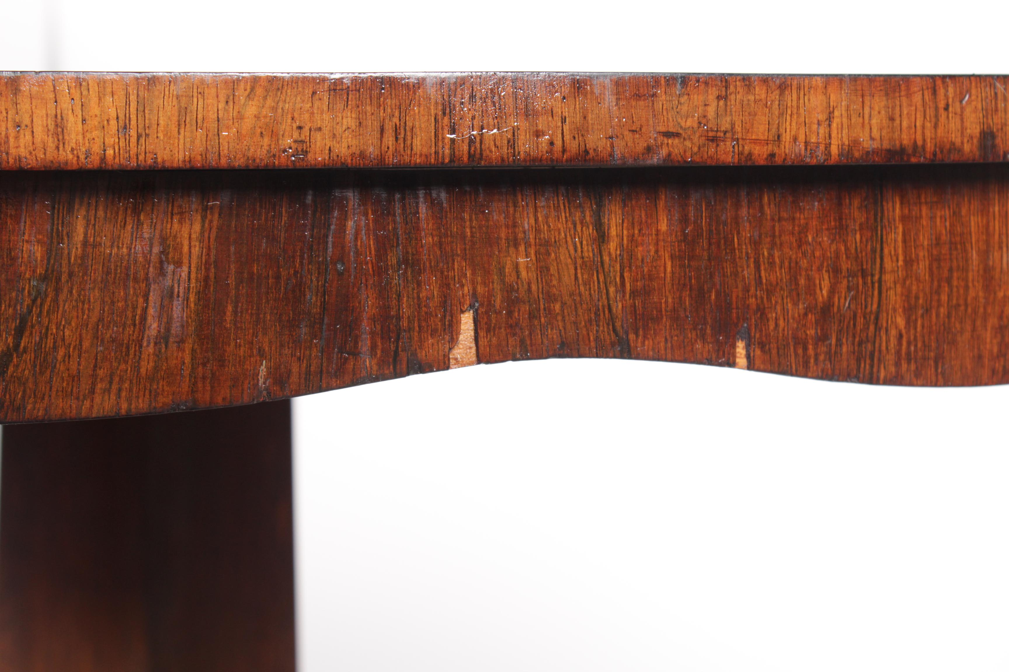 1840s Regency Style Rosewood Table   Image 9 Of 9