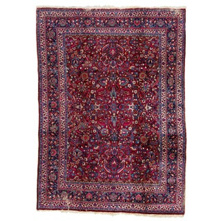 """Vintage Persian Rug, 8'0"""" X 11'2"""" For Sale"""