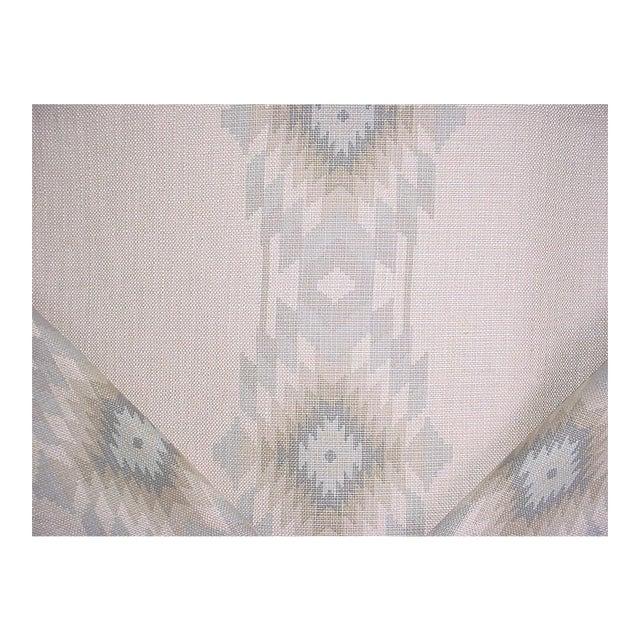 Southwestern Andrew Martin Cruz Desert Southwest Printed Ikat Upholstery Fabric - 4-7/8y For Sale