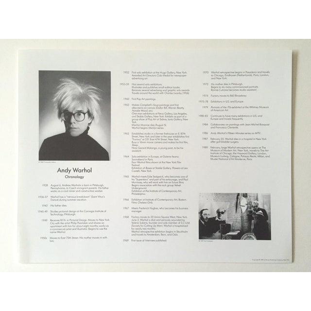 "Andy Warhol Estate Rare Vintage 1989 "" Familiar Faces "" Portfolio Collector's Pop Art Lithograph Prints - Set of 6 For Sale - Image 10 of 13"