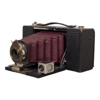 "Antique Eastman Kodak ""No. 2 Folding Pocket Brownie"" Camera C.1909 For Sale"