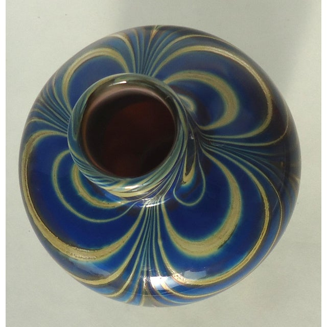 Vintage Studio Glass Vase - Image 5 of 7