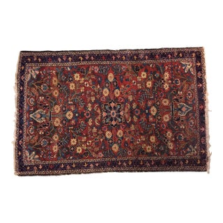 19th Century Antique Persian Rug - 5′3″ × and 41.0″